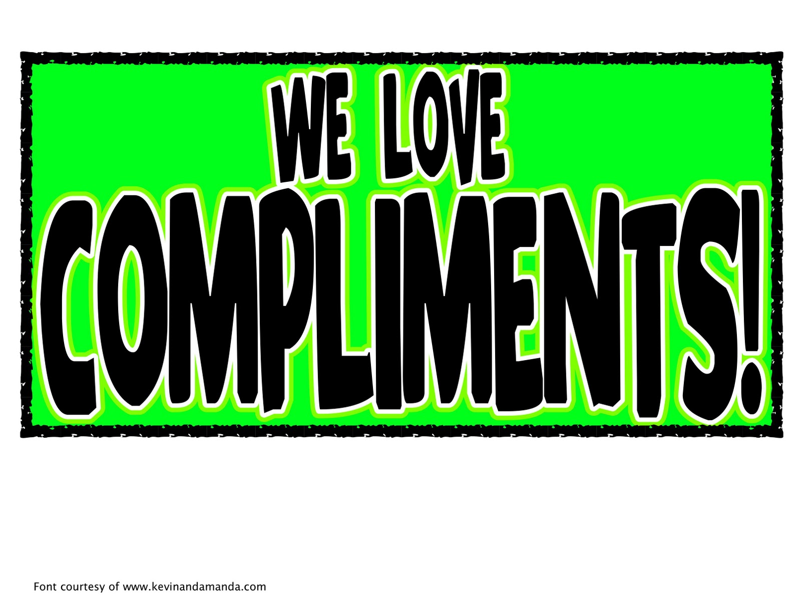how to compliment someone at work
