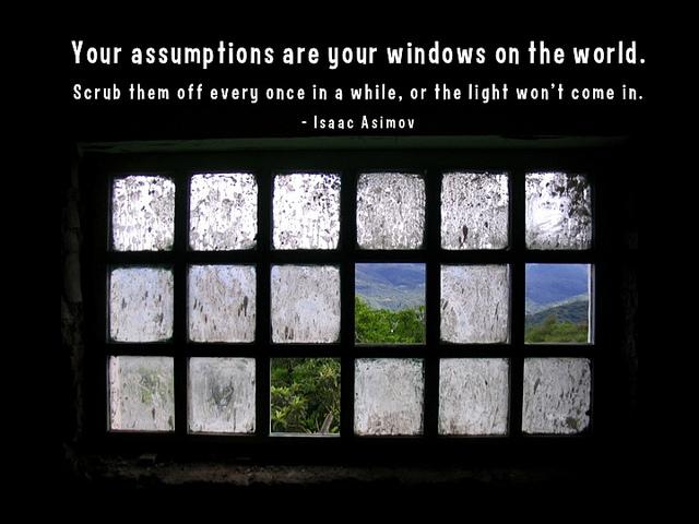 asumptions