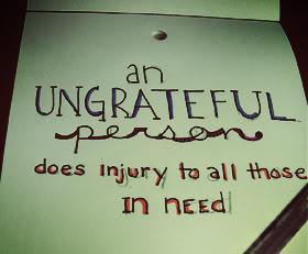 ungratefulquotes