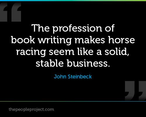 John_Steinbeck_-_The_profession_of_book_writing