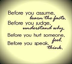 Assume the Best