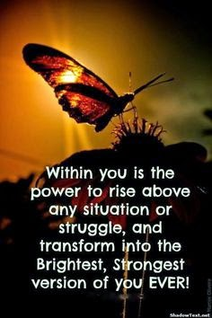 Rising to transform