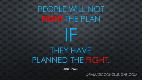 plan the fight