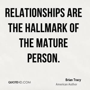 brian tracy relationships