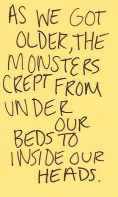 monsters in our head