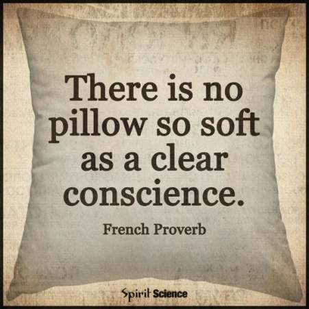 Image result for clear conscience quotes